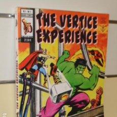 Cómics: THE VERTICE EXPERIENCE - DOSSIER GRAFICO VERTICE UN VIAJE A LA NOSTALGIA. Lote 279350278