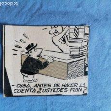 Cómics: DIBUJO ORIGINAL CHISTE PUBLICADO EN LA RISA AÑOS 40. Lote 277708293