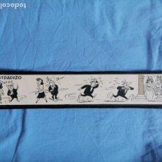 Cómics: BART. DIBUJO ORIGINAL HISTORIETA PUBLICADA EN LA RISA AÑOS 40. Lote 277710113