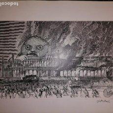 Cómics: COLLAGE ORIGINAL JOSE MARIA BEA FIRMADO PUBLICADO EN ZONA 84 IMAGENES DEL PLANETA IMAGINARIO. Lote 286657828
