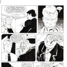 "Cómics: MARTYN MISTÉRE N. 135 - G.CARACUZZO - TAVOLA ORIGINALE ""CATACOMBE!"" - 1993 BONELLI. Lote 287951363"