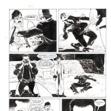 "Cómics: MARTYN MISTÉRE N. 135 -C G.CARACUZZO - TAVOLA ORIGINALE ""CATACOMBE!"" - 1993 BONELLI. Lote 287951558"