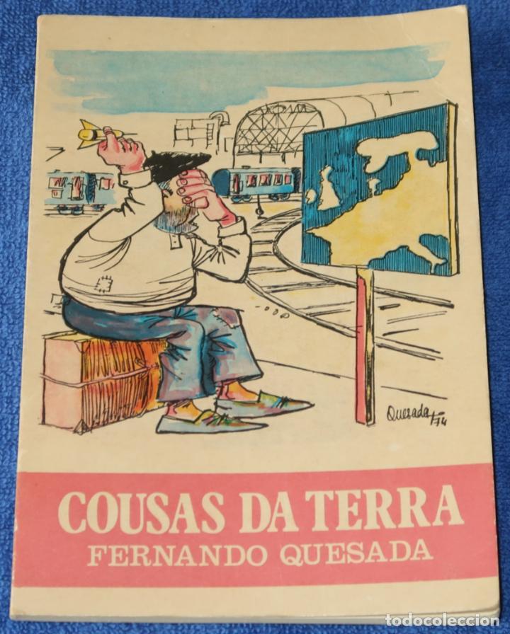COUSAS DA TERRA - FERNANDO QUESADA - CAJA DE AHORROS PROVINCIAL DE PONTEVEDRA (1975) (Tebeos y Comics - Art Comic)