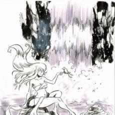 """Fumetti: ILUSTRACIÓN ORIGINAL INKTOBER DE MITOLOGÍA CATALANA """"LES GOGES"""". Lote 290996518"""