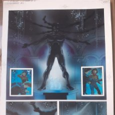 "Fumetti: NIGHTBREED ""RAZAS DE NOCHE"" PAGINA COMIC ORIGINAL PINTADA DE JIM BAIKIE EPIC MARVEL 1990. Lote 291501253"
