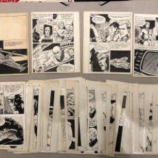 Fumetti: VILLA - SUPERVIVENCIA GALÁCTICA. 63 PÁGINAS ORIGINALES CÓMIC SCIFI. 1970.. Lote 293309703