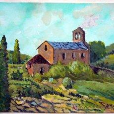 Arte: 1325.- ACUARELA S/PAPEL 25X35 ,,,ERMITA,,, A.MASSONI. Lote 25079314