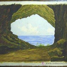Kunst - 1387.- ACUARELA 17x21 ,,, PAISAJE,,, ATRIBUIDO A S.AMARGANT - 24489574