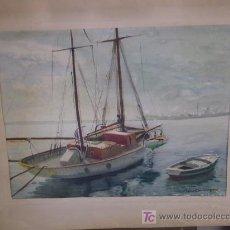 Arte: TORTOSA-BENET DOMINGO-VELERO EN BARCELONA. Lote 20465670