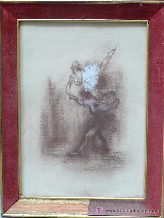 Montserrat E Dos Dibujos De Bailarinas La Comprar Acuarelas