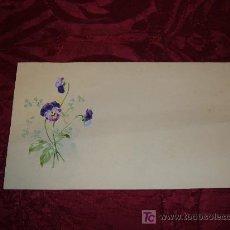 Arte: ACUARELA FLORES 1920-30. Lote 7481625