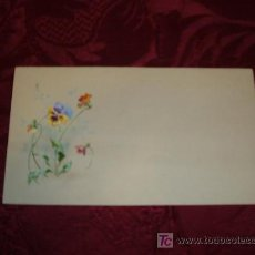 Arte: WATERCOLOR FLOWERS 1920-30 ACUARELA FLORES 1920-30. Lote 10526291