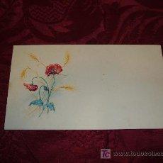 Arte: ACUARELA AMAPOLAS 1920-30. Lote 10618330