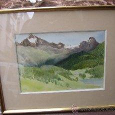 Arte: ACUARELA FIRMADA E. M. D. 1901.. Lote 27507057