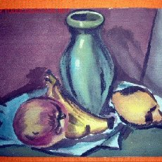 Arte: 1082.- ACUARELA 24X31 ,,BODEGON,, ANONIMO. Lote 25232445