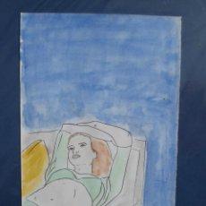 Arte: 30 - DIBUJO ACUARELA - MFERRÉS. Lote 21259091