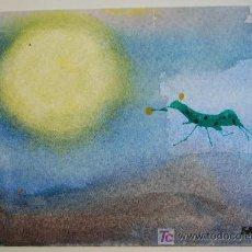 Arte: ACUARELA SOBRE PAPEL , FIRMADA SANDRO. Lote 12865835