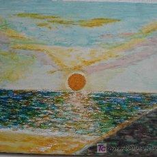 Arte: PUESTA DE SOL. Lote 27291042