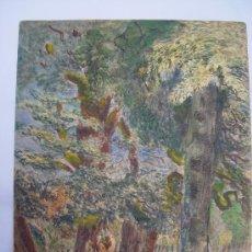 Arte: 'BOSQUE' ACUARELA DE LA ESCUELA INGLESA DEL SIGLO XIX-XX. . Lote 27089862