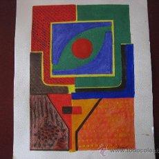 Arte: BONITA ACUARELA,MEDIDAS MARCO INCLUIDO 39 X 30 CM.. Lote 26828318
