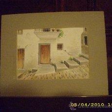 Arte: ABRIL - ACUARELAS - CADAQUÉS.. Lote 26941070