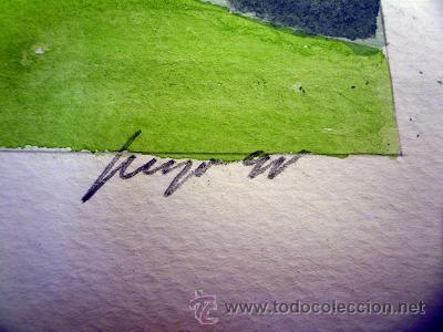 Arte: Acuarela original - Foto 2 - 26715652