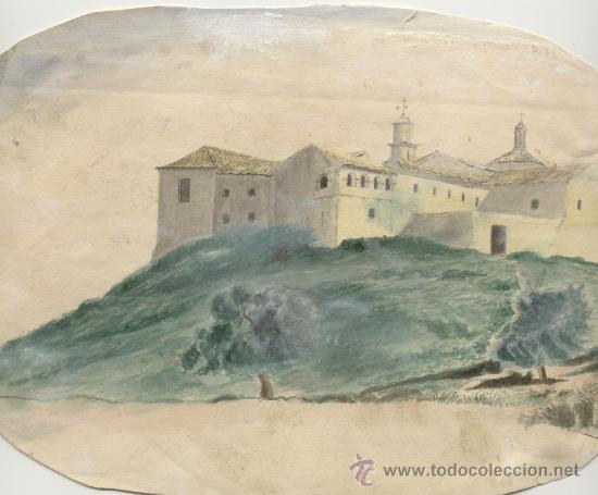 Arte: Antigua Pintura a Acuarela y a Plumilla Siglo XIX - Foto 2 - 25659900