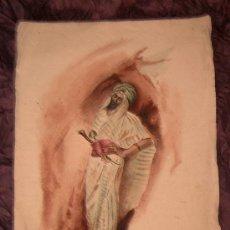 Arte: ANTIGUA PINTURA A ACUARELA Y PLUMILLA ~ SIGLO XIX. Lote 25551951