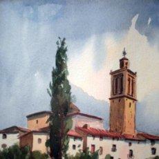 Arte: ACUARELA SOBRE PAPEL FIRMADA A. BALLESTER 8V. Lote 19263522