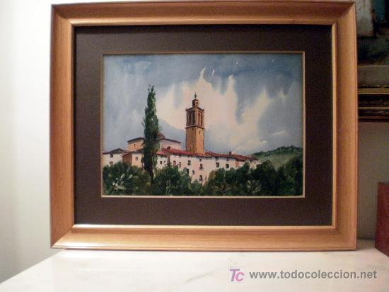 Arte: Acuarela sobre papel Firmada A. Ballester 8V - Foto 3 - 19263522