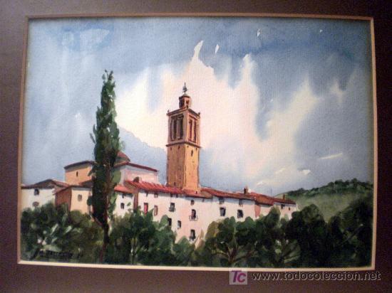 Arte: Acuarela sobre papel Firmada A. Ballester 8V - Foto 2 - 19263522