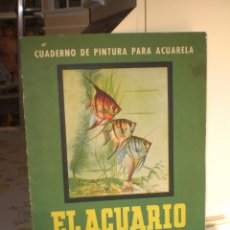 Arte: ANTIGUO CUADERNO DE PINTURA PARA ACUARELA - SEIX BARRAL. Lote 26602810