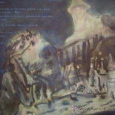 Arte: PRECIOSA ACUARELA ATRIBUIDA A GRAU SALA PINTOR CATALAN. Lote 26921066