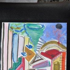 Arte: ACUARELA SOBRE PAPEL FIRMADA VALENCIA 96. Lote 23240551