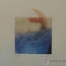 Arte: ORIGINAL ACUARELA FIRMADA Y NUMERADA. Lote 27489242