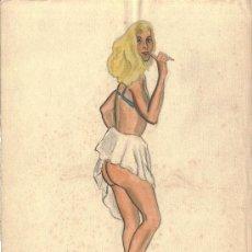 Arte: BURLESQUE (ENSEÑANDO EL TRASERO). Lote 26355935