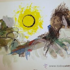 Arte: ÓSCAR ESTRUGA.ACUARELA ORIGINAL.. Lote 24959289