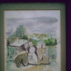 Arte: ACUARELA DE JUAN PEDRO ESTEBAN 1981 . Lote 26152295