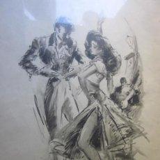 Arte: LA CHUNGA ACUARELA P.CLAPERA. Lote 29166024
