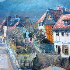 Arte: PRECIOSA ACUARELA DEL ARTISTA REINHARDT CASPAR (1873 - 1946) - ARTISTA REFERENCIADO. Lote 29397882