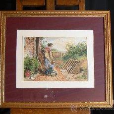 Arte: ACUARELA INGLESA SIGLO XIX. Lote 29752974