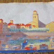 Arte: ACUARELA .. FIRMA J. URTIRBEREA. Lote 29724607