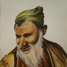 Arte: MAGNÍFICO RETRATO DE UN ANCIANO, ESTILO OLD MASTER, FIRMADO VINCENT PINNINGTON.. Lote 29867128