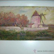 Arte: CUADRO MOLINO DE VIENTO. Lote 29913153