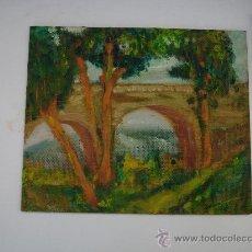Arte: CUADRO RIÓ PUENTE. Lote 29913169