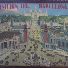 Arte: EXPOSICION DE BARCELONA 1929 30 PALACIO NACIONAL. Lote 30338914