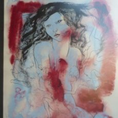 Arte: LINDA IDELSON ACRILICO ORIGINAL. Lote 30647922