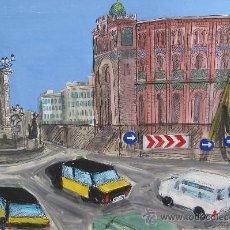 Arte: ESTHER CASTELLS - TÉCNICA MIXTA SOBRE PAPEL - 30 X 42 CM.. Lote 30731881
