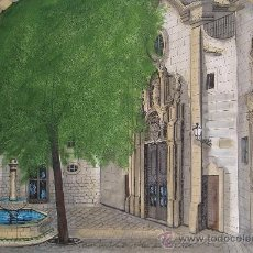 Arte: ESTHER CASTELLS - TÉCNICA MIXTA SOBRE PAPEL - 30 X 42 CM.. Lote 30732139
