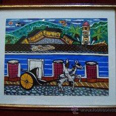 Arte: PINTURA - ACUARELA SOBRE PAPEL - FERNANDEZ - PROFESOR DE ARTE DE TRINIDAD. CUBA - 1997 -. Lote 41352252
